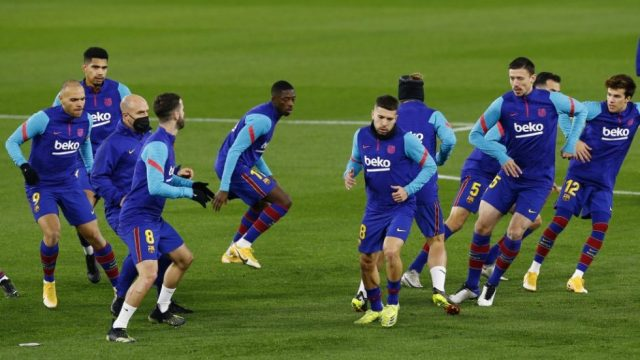 Barcelona predicted line up vs Bayern Munich