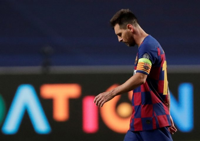 OFFICIAL: Lionel Messi issues demand Barcelona exit