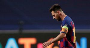 Ronaldo sends message to furious Lionel Messi over Barcelona exit