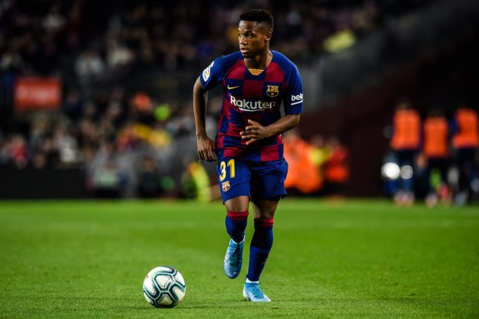 Barcelona And Ansu Fati At Odds Over New Contract