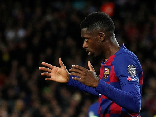 Dembele to leave Barcelona for Manchester United