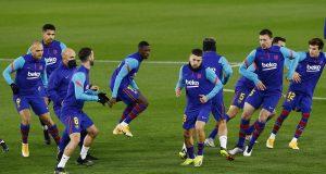 Barcelona Predicted Line Up vs Sevilla