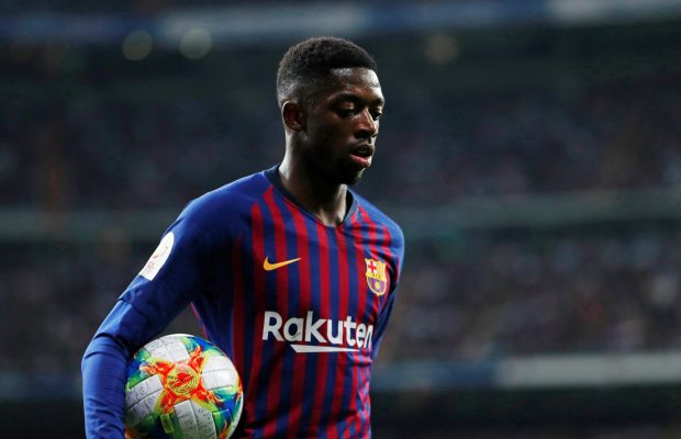 Barcelona Rules Out Possibility Of Ousmane Dembele Moving To United
