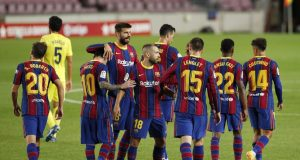 Barcelona predicted line up vs Ferencváros
