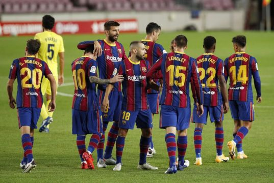 Barcelona predicted line up vs Ferencváros