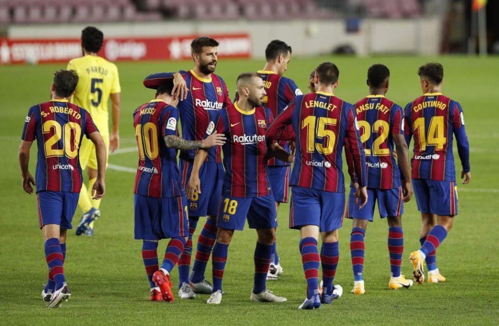 barcelona predicted line up vs ferencvaros starting 11 for barcelona barcelona predicted line up vs
