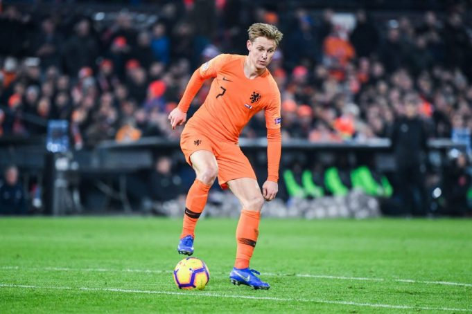 Frenkie De Jong Provides Barcelona Form Update Before El Clasico