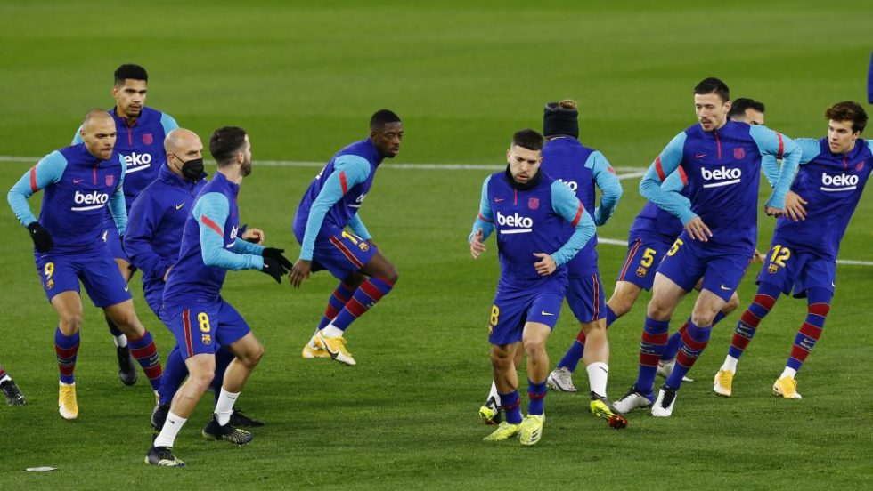 Barcelona Predicted line up vs Osasuna