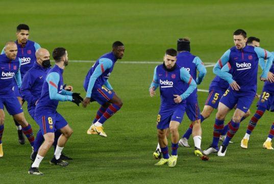 Barcelona predicted line up vs Dynamo Kyiv