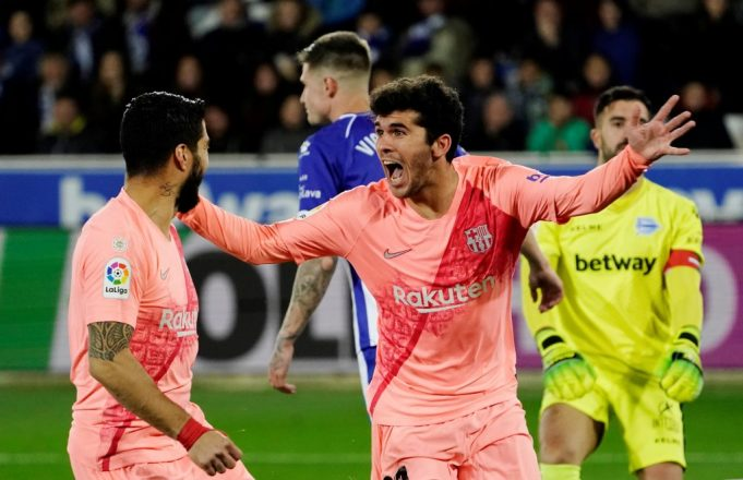 Carles Alena wants to stay at Camp Nou for life