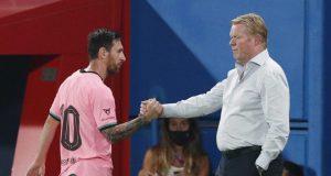 Ronald Koeman reacts to Lionel Messi 'walking video'