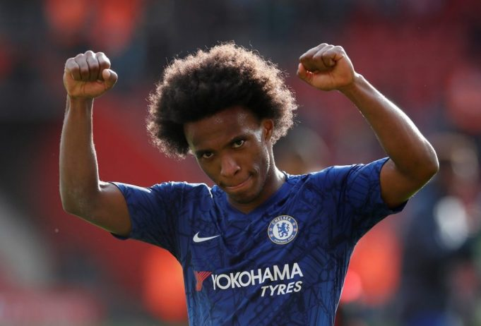 Willian denies knowledge of Barcelona offer