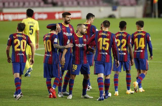Barcelona predicted line up vs Eibar
