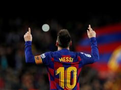 Lionel Messi is happy at Barcelona