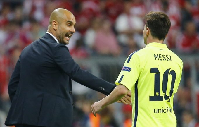 Messi Calls Guardiola and Enrique 'Best' Managers