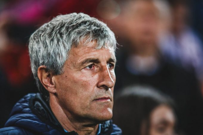 Setien open to Barcelona return