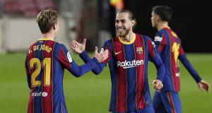 Barcelona Defender Oscar Mingueza Delighted With 4-0 Victory Over Granada