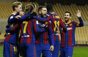 Barcelona Predicted Line Up vs Elche