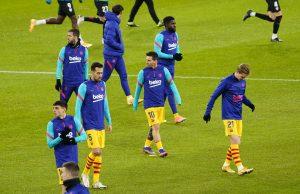 Barcelona predicted line up vs Granada