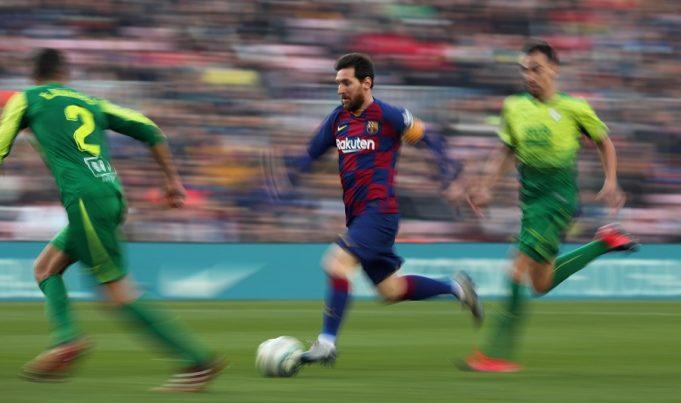 Koeman - Messi back to his best
