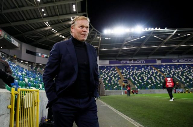 Koeman defends Messi after seeing red in cup final