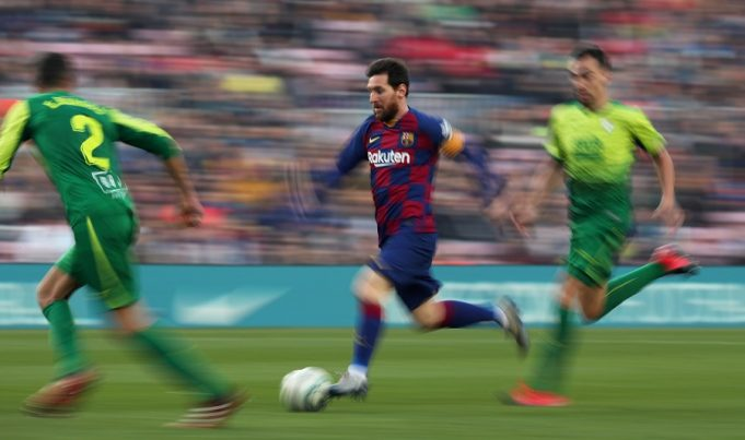 Laporta talks Messi, stadium plans and election