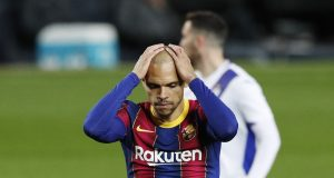 Martin Braithwaite discusses possibility of leaving Camp Nou