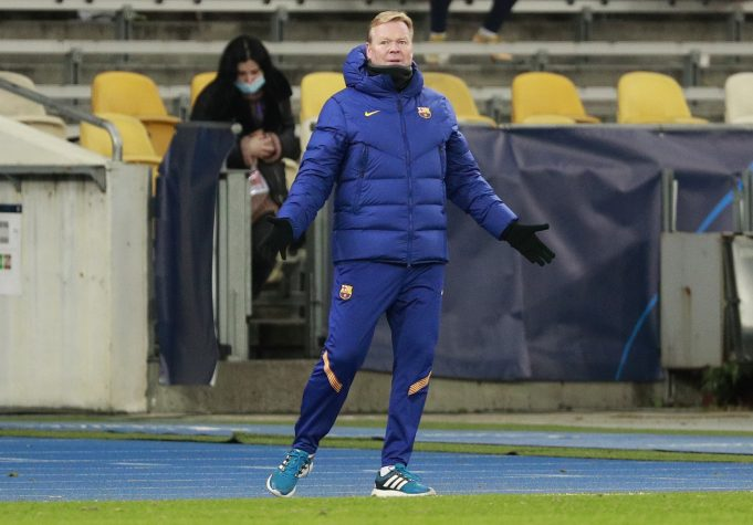 Ronald Koeman desperate for January reinforcements
