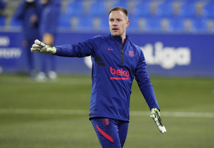 Ronald Koeman lucky to have Ter Stegen in his squad