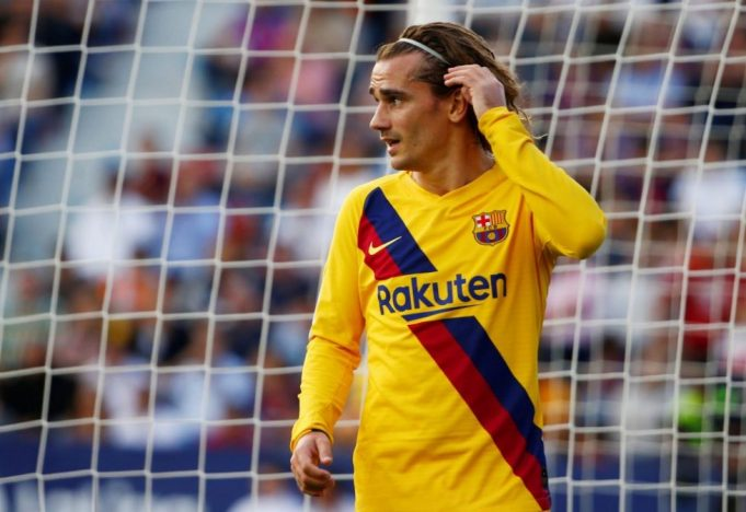 Antoine Griezmann Poor For Barcelona Compared To Atletico Madrid Days
