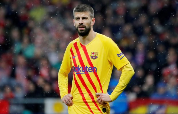 Gerard Pique takes sly dig over Real Madrid