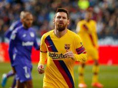 Lionel Messi happy again at Barcelona