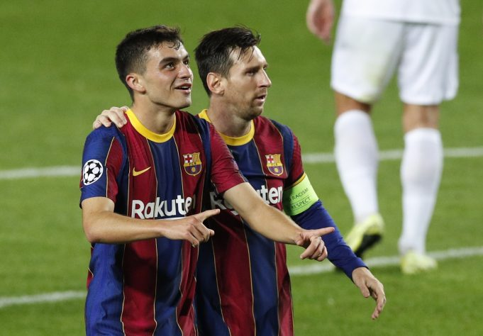 Pedri hopes to be teammates with Messi for many years