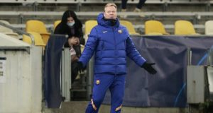 Ronald Koeman Reluctant To Talk About Clinching The Double This Season