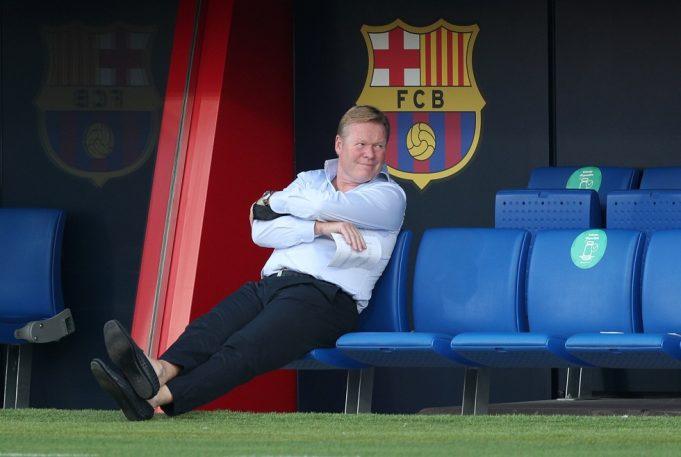 Ronald Koeman praised by Barca legend