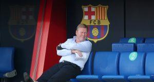 Barcelona boss Koeman targeting Man Utd midfielder Van de Beek