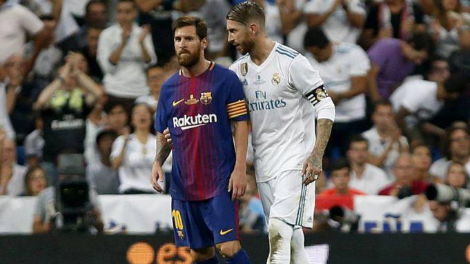 Sergio Ramos makes Lionel Messi admission ahead of El Clasico