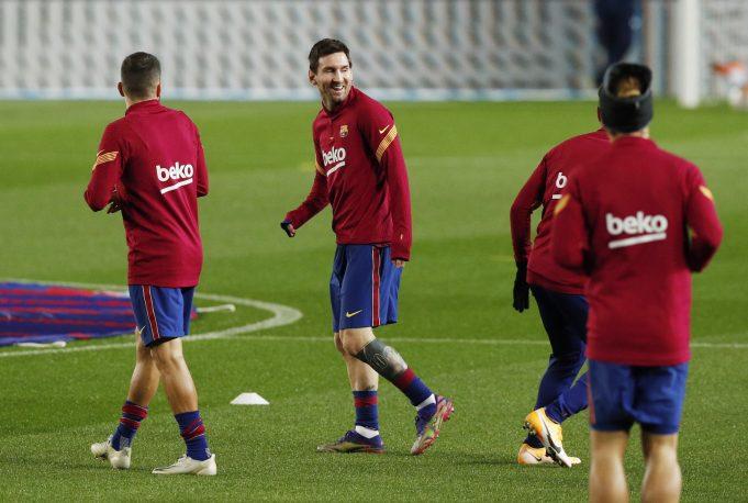 Barcelona predicted line up vs Levante