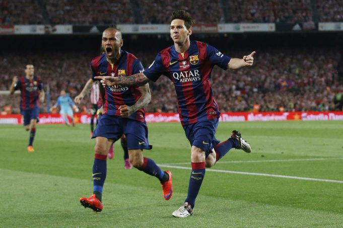 Dani Alves pleads Messi to stay at Camp Nou