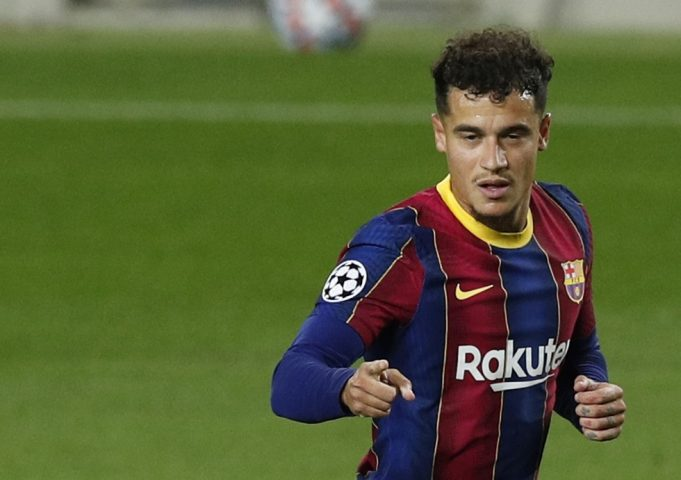 Everton Would Be Happy To Take Philippe Coutinho Of Barcelona's Hands