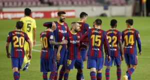 Pique - Barcelona Better Off Than They Were Six Months Ago