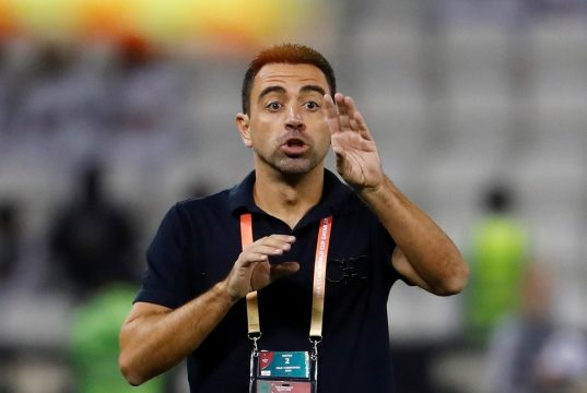 Xavi hints at interest in Barcelona job