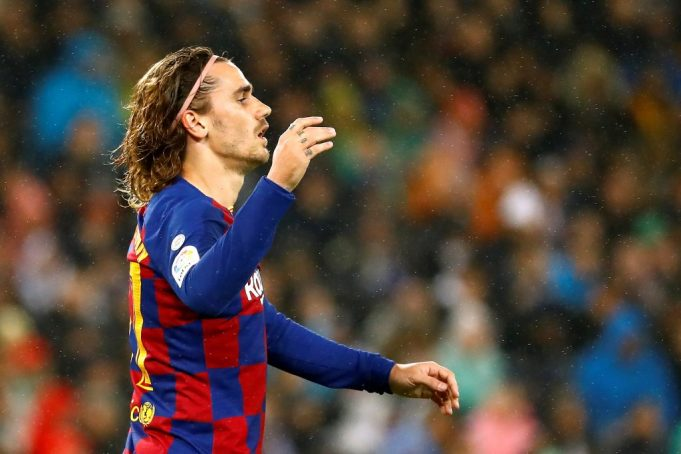 Barcelona forward Antoine Griezmann wants to move to MLS