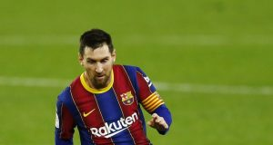 Joan Laporta offers an update on Messi's future
