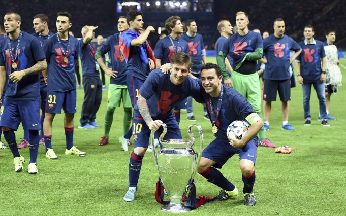Barcelona legend Xavi not happy with Messi joining PSG
