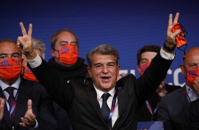 Barcelona president Joan Laporta denies Koeman sacking