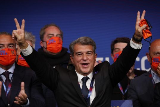 Joan Laporta asks for trust and patience from Barcelona fans